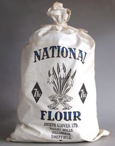 National flour bag during WWII